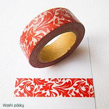 Papier - bordový ornament - 6231863_