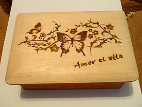 Krabičky - Šperkovnica - Amor et vita - 6233009_