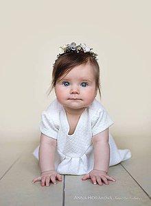 Ozdoby do vlasov - Newborn venček