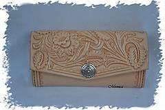 "Peňaženky - Dámska peňaženka ,, Floral"" - 6233166_"