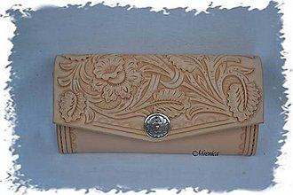 Peňaženky - Dámska peňaženka ,, Floral