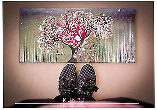 Obrazy - KUN3T, 30x60, originál - 6237205_