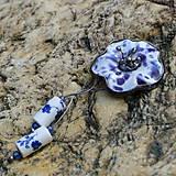 - Modrý kvet - darček k objednávke - 6235694_