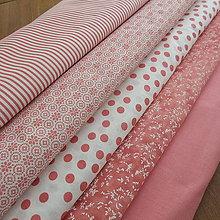 Textil - Kolekcia staroružová-guľôčky - 6234009_