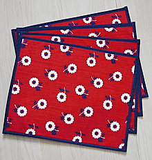 Úžitkový textil - kvietkované prestieranie - 6235833_