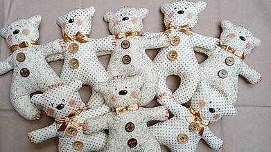 Hračky - Mackovia...darček pre deti na svadbu :) - 6235092_