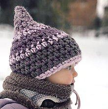 Detské čiapky - Skřítek ze Sněhové pláně - 6235034_