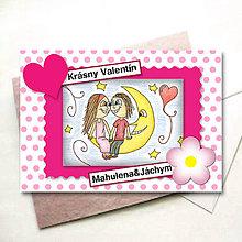 Papiernictvo - Valentínka puntíková bodkovaná - 6234885_