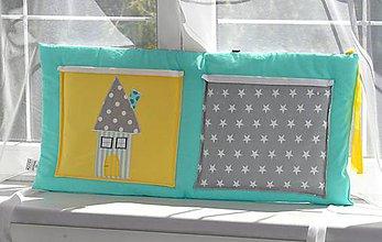 Textil - Bočný vreckár na postieľku 45x70cm - 6239995_