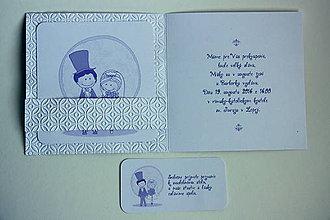 Papiernictvo - Pozvanie k stolu - bielo fialkasté - 6238901_