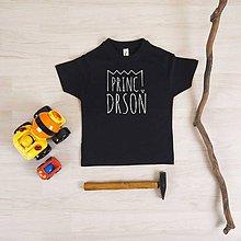 Detské oblečenie - Princ Drsoň - 6241313_
