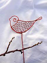 Dekorácie - vtáčik medenáčik.... - 6238462_