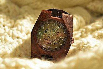 Náramky - Ladies B-2- Drevené hodinky Dámske - 6240409_