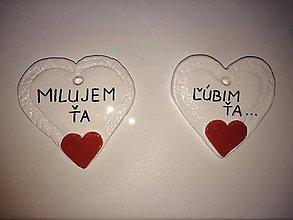 Dekorácie - Valentínske srdiečko - 6241751_