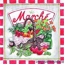 Papier - ovocie v košíku - 6240830_