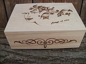 Krabičky - Krabička - Amor et vita - 6239579_