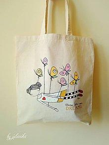 Nákupné tašky - Len ja a môj svet - nákupná taška II. - 6239325_