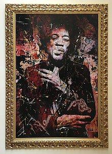 Obrazy - Pop Art obraz Jimi Hendrix - 6239075_