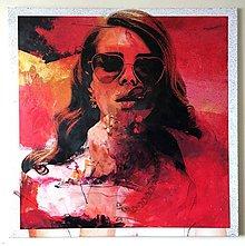Obrazy - Pop Art obraz Lana del Rey - 6239267_
