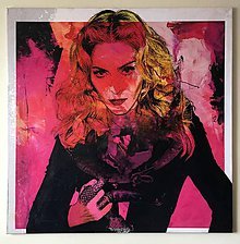 Obrazy - Pop Art obraz Madonna - 6239277_