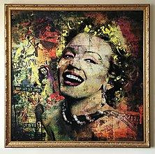 Obrazy - Pop Art obraz Merilyn Monroe - 6239312_