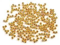- Kovové korálky 4mm, 50 ks - 6238450_