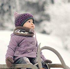 Detské čiapky - Skřítek ze Zamrzlé stráně - 6241796_