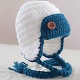 Detské čiapky - Zimná ušianka ...