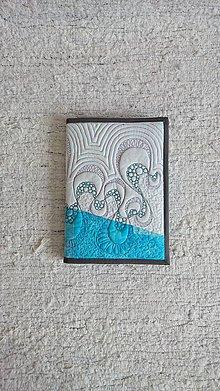 Papiernictvo - obal A5 patchwork - 6246227_