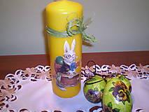 Svietidlá a sviečky - Veľká sviečka Zajac - 6247677_