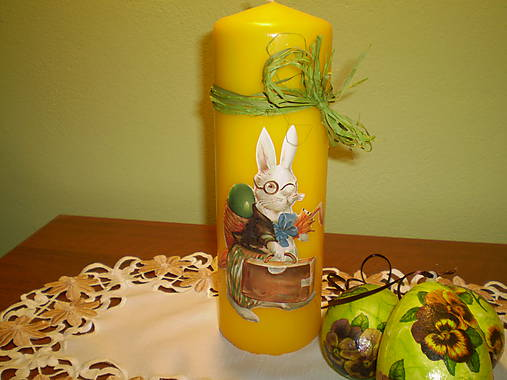 Veľká sviečka Zajac