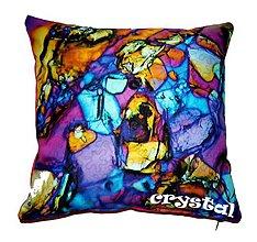 Úžitkový textil - Vankúš Crystal DIAMANT - 6247803_