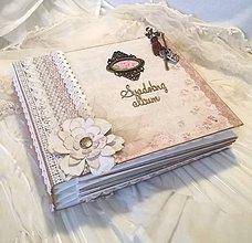 Papiernictvo - Svadobný fotoalbum na želanie pre Vandu - 6246245_