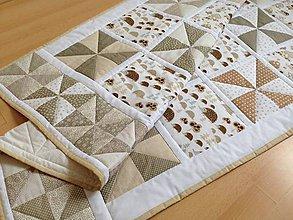 Textil - Ježkovia z lesa - 6246906_