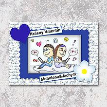 Papiernictvo - Online láska (valentínka tisíc slov) - 6245262_