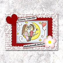 Papiernictvo - Na Mesiaci (valentínka tisíc slov) - 6247738_