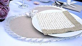 Úžitkový textil - Srdco Elegant - 6250737_
