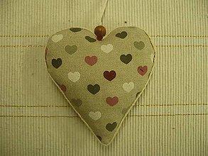Dekorácie - Valentínske srdiečka - 6250647_