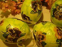 Dekorácie - Veľkonočné vajíčka - 6251283_