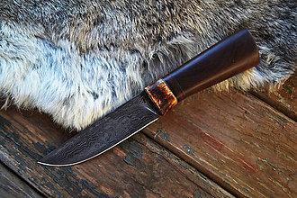 Nože - Damaškový nôž zo starých časov - 6249689_