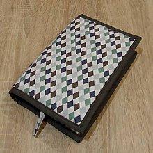 Úžitkový textil - Pre knihomoľov -  kosoštvorce XL - 6251299_