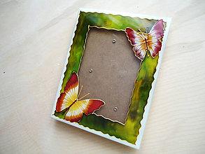 Rámiky - Motýle na lúke - 6250007_