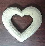Polotovary - Srdce štruktúrované - 6251033_