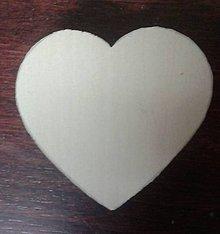 Polotovary - Polotovar- srdce na vyrezávanie - 6251073_