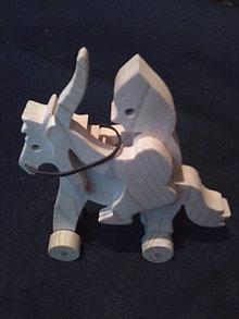 Hračky - bojovník na koni z lukom - 6248913_