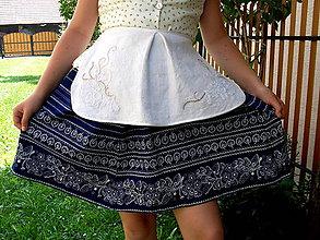 Iné oblečenie - Fertuška kvetinová a vyšívaná - 6254928_