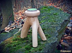 Svietidlá a sviečky - Svetielko na trojnožke - 6254255_