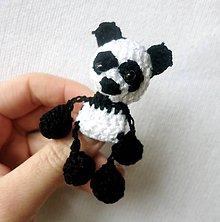 Odznaky/Brošne - Panda Brošničková - 6253687_