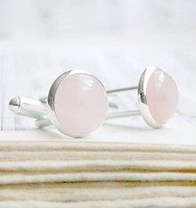 Šperky - Rose Quartz - 6254315_