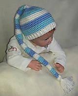 Detské čiapky - Elfová čiapka - 6254113_